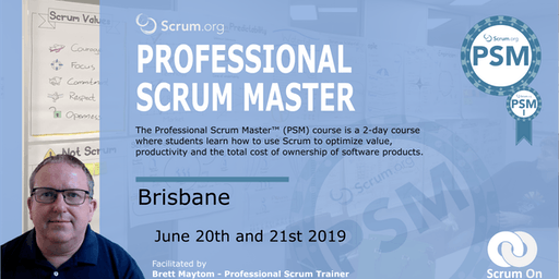 Professional Scrum Master-Brisbane