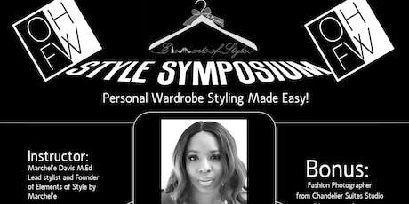 "OHFW - ""I Style"" Symposium tickets"