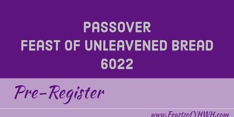 Feast of unleavened bread menu