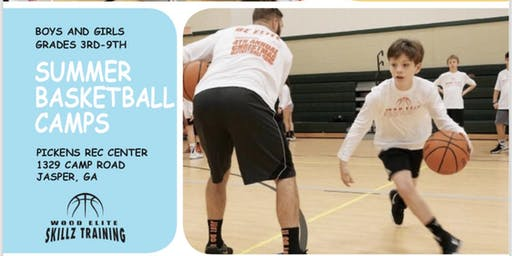 Wood Elite Skillz Summer Basketball Camp Session 2