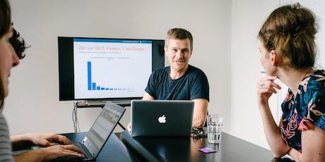 SEO Beratung - Online Sprechstunde für Unternehmen Tickets
