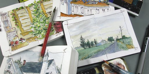 William Mancuso-Watercolor Sketchbook Workshop