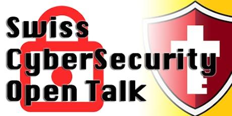 Swiss CyberSecurity: OPEN TALK tickets