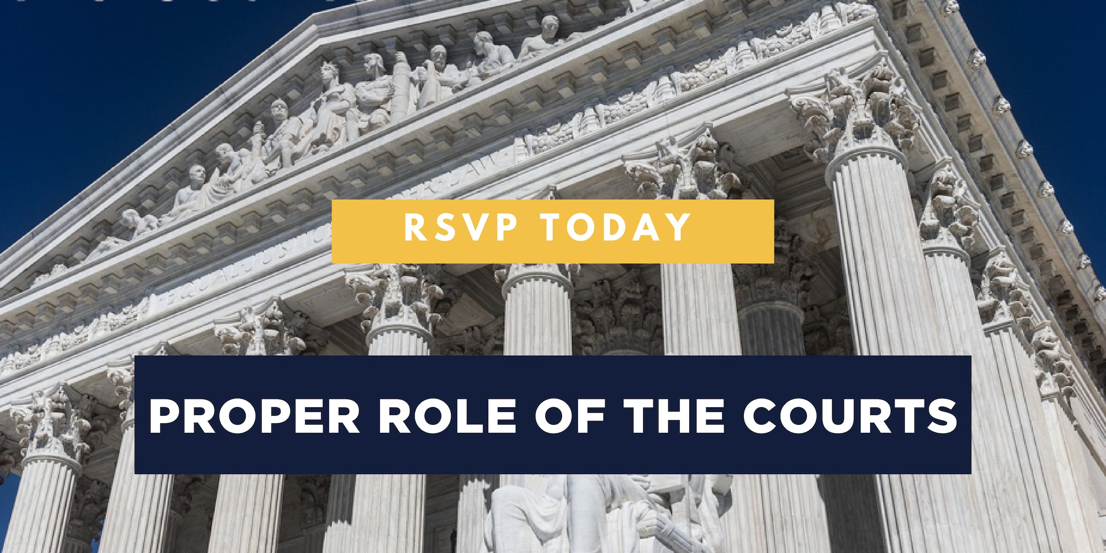 AFP Foundation Iowa : Proper Role of the Cour