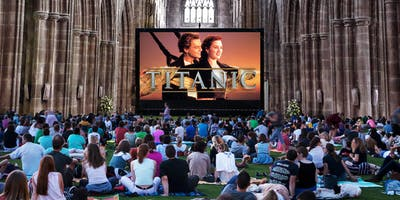 Titanic Indoor Outdoor Cinema Experience at Chester Cathedral