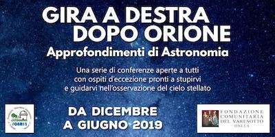 VIAGGIO NELL'UNIVERSO SCONOSCIUTO - Gira a Destra dopo Orione - 7a conferenza