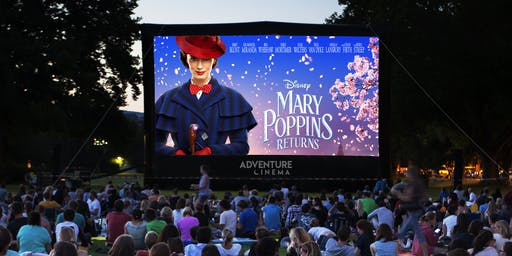 Mary Poppins Returns Outdoor Cinema at Colwick Park in Nottingham
