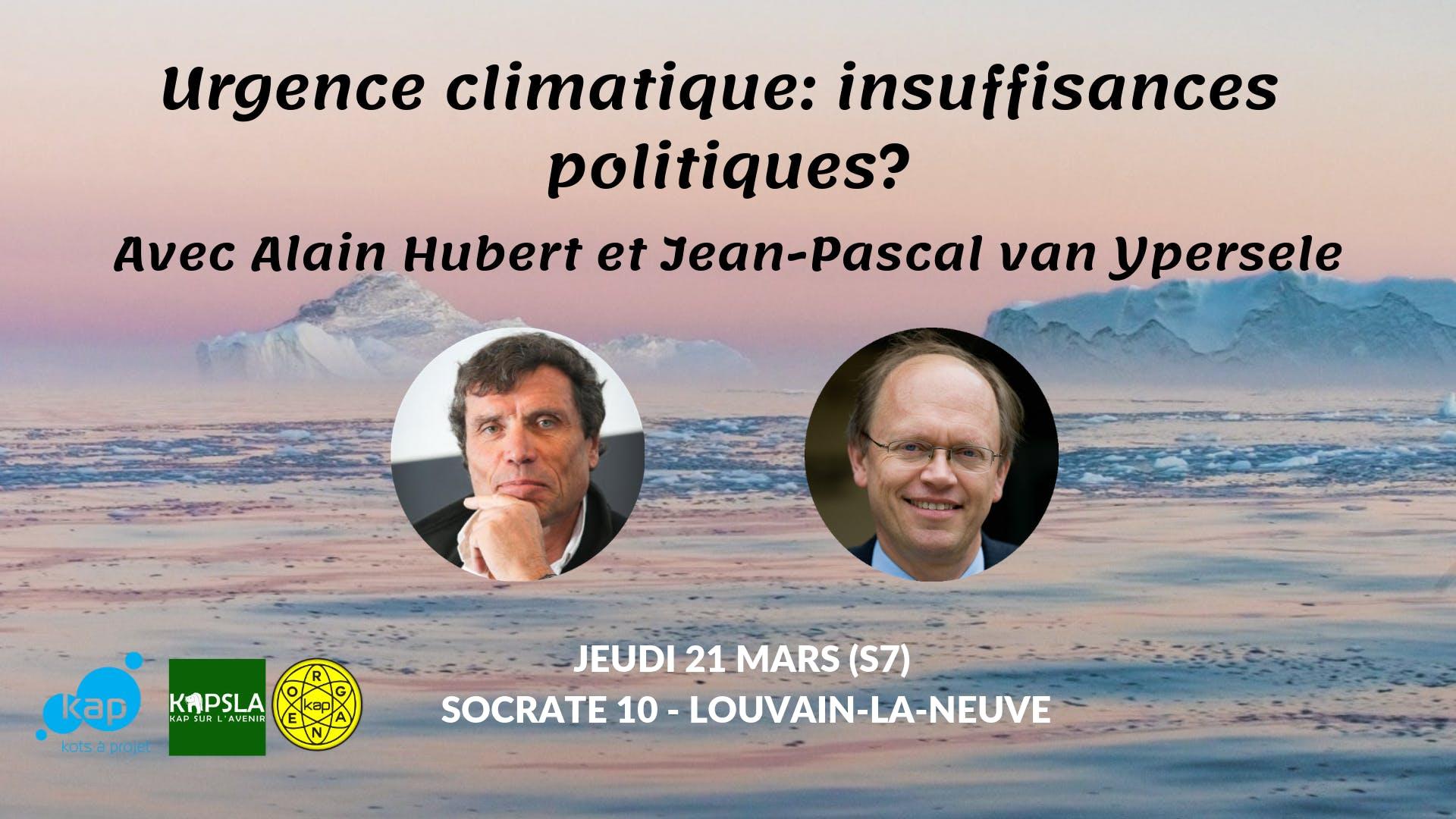 Urgence climatique: insuffisances politiques