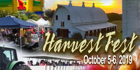 Give.Love.Grow. Harvest Fest 2019 (Exhibit/Vendor Registration) tickets