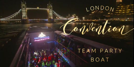 UK Convention Team Party Boat