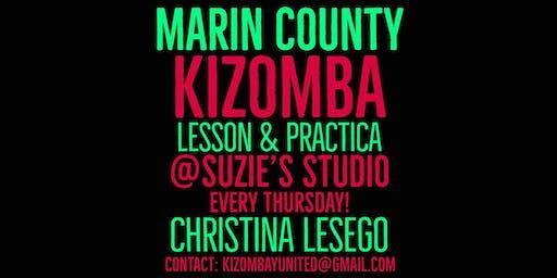 Kizomba Marin on Thursdays: Lesson & Practica