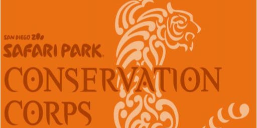 San Diego Zoo Safari Park Conservation Corps Information Session for Fall Semester 2019
