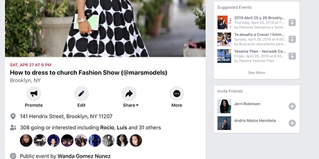 @marsmodels Fashion Show by @marsministry tickets