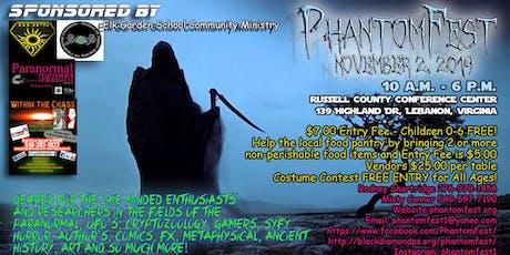 Phantomfest tickets
