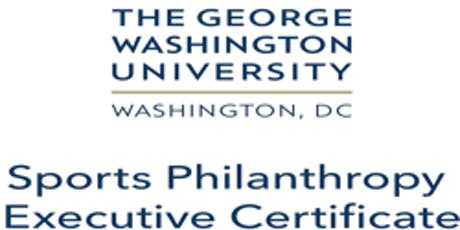 George Washington University Sport Philanthropy Certificate Program