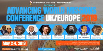 Advancing World Missions Conference Uk Europe