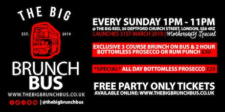 THE BIG BRUNCH BUS tickets