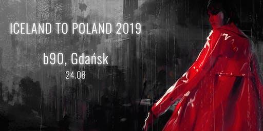 Iceland To Poland - Gdańsk 2019
