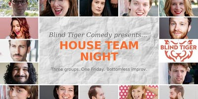 Blind Tiger Comedy House Teams Present: Chilly Spring
