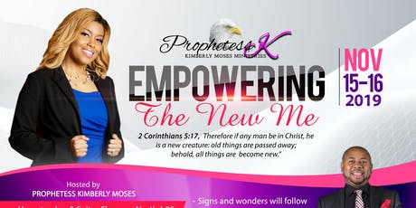 Empowering The New Me Conference tickets