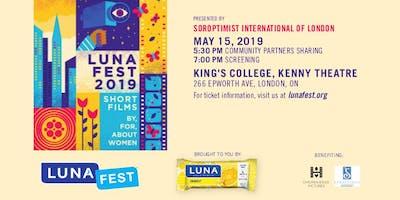 LUNAFEST 2019 Soroptimist London - Student Admission