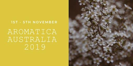Aromatica Australia 2019 1 - 5 November 2019 Tweed Heads Gold Coast Qld