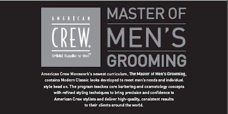 American Crew Master of Men's Grooming tickets