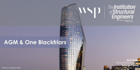 Project Focus | AGM (NTRG) & One Blackfriars | WSP tickets