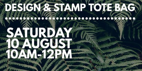 Design & Stamp Tote Bag Workshop tickets