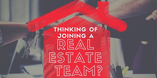 Joining a Real Estate Team