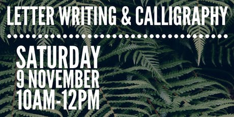 Letter Writing & Calligraphy Workshop tickets