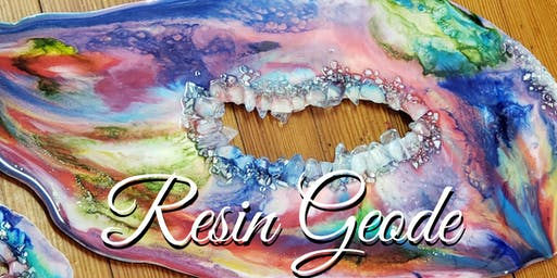 Resin Geode Workshop