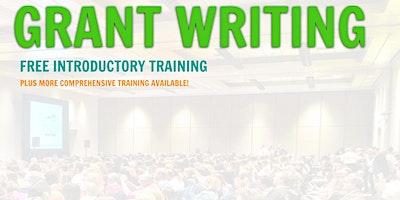 Grant Writing Introductory Training... Elizabeth,