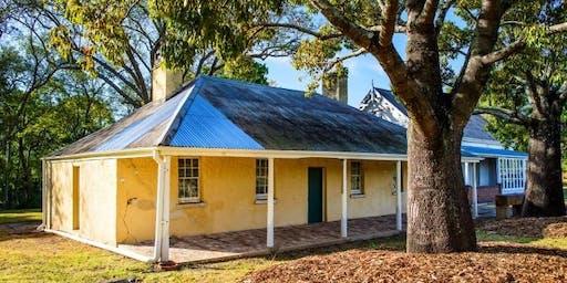 Historic Dairy Cottage tour (MONDAY TOURS)