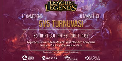 LF Game Zone LoL 5v5 Turnuvası İzleyici Bileti v