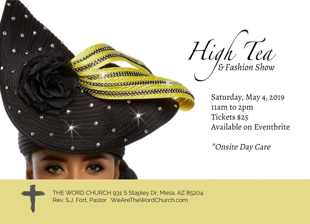 Mother's Day High Tea & Fashion Show