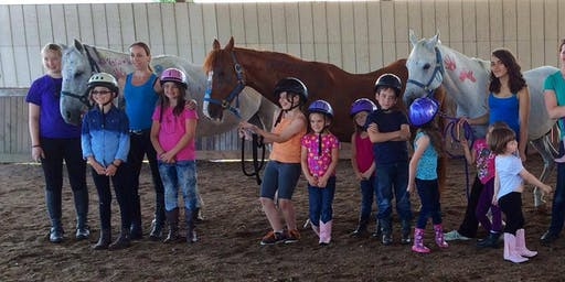 2 Day JULY Horse Summer Day Camp at Enumclaw Feather Equestrian