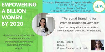 Empowering a Billion Women by 2020 -Chicago Downtown Chapter Meeting-March