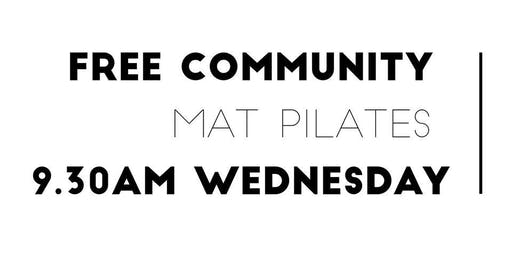 FREE COMMUNITY MAT PILATES