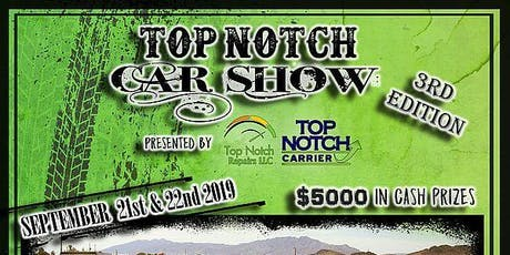 Top Notch Car Show 2019 tickets