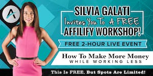 Italy, Rome - FREE LIVE Affilify Workshop - Affiliate...