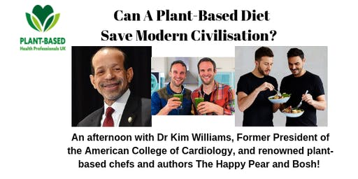 Can a Plant-Based Diet Save Modern Civilization?