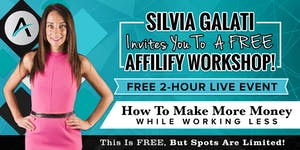Italy, Milan - FREE LIVE Affilify Workshop - Affiliate...