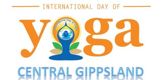 Yoga Day Central Gippsland 2019