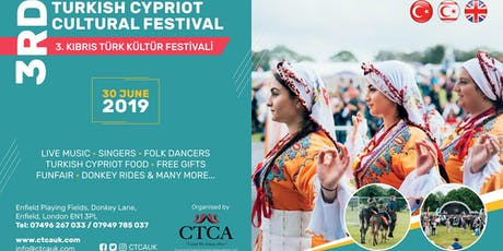 3rd Turkish Cypriot Cultural Festival 2019 #tccf2019 tickets