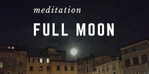 Meditazione Luna Piena - online