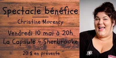 Spectacle bénéfice - Christine Morency
