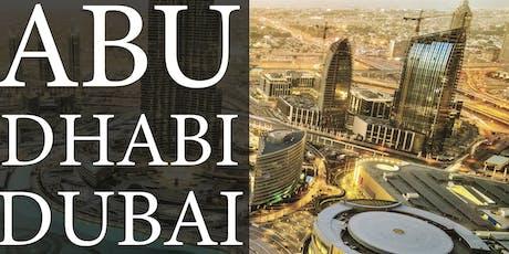 Abu Dhabi + Dubai Holiday Vacation tickets