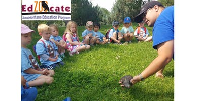 ZooVenture Camp: July 22-26, 2019 - Wolves: Zoo Explorers!