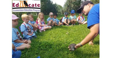 ZooVenture Camp: July 29-Aug. 2, 2019 (PM) - Otters: Home Sweet Habitat